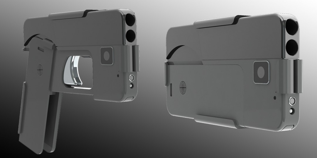 Armi sempre più a portata di mano: arriva l'Ideal conceal, la pistola a forma di smartphone