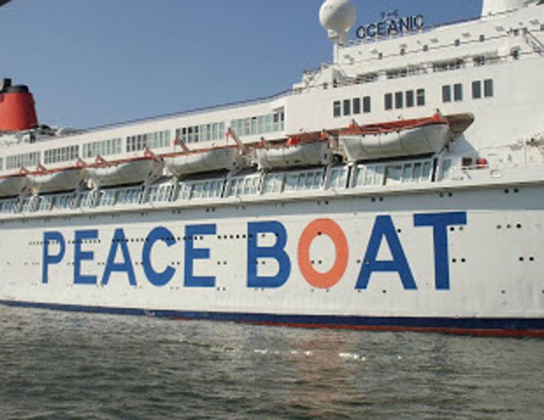 La Peace  Boat approda a Cagliari. E chiede un mondo senza atomica