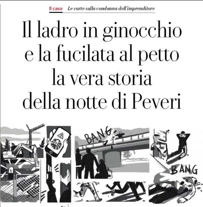Peveri sparò volontariamente: nessuna difesa, Salvini cosa dice?